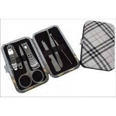 SET MANICURA x6ps acero escoces/pu 10x6cm (110180)