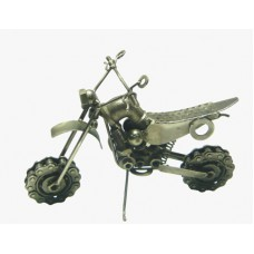 MOTO CROSS METAL 25x13cm. (110724)