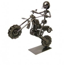 ADORNO MOTO CROSS WILLY 24,5 x 26 Cm (110887)