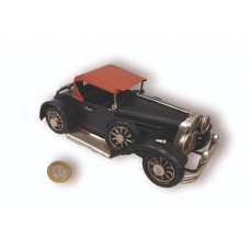 ADORNO METAL AUTO C/CAPOTA ANT 15x7x6cm