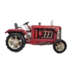 ADORNO METAL TRACTOR P/COLGAR 22X5X12cm