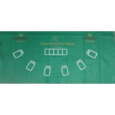 PAÑO VERDE 180x90cm POKER texas holder (109936)