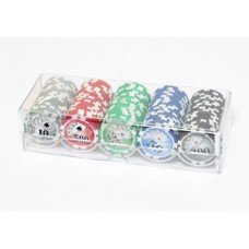 FICHAS POKER DISPENSER x100 holograma $11g