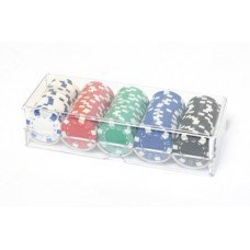 FICHAS POKER DISPENSERx100 11g.*color* (109940)